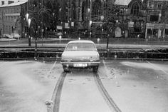 Martin Parr GB. England. Halifax. From 'Bad Weather'. February. 1980.