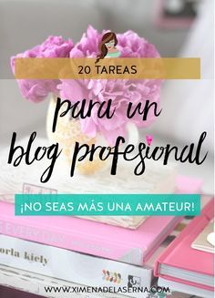 20 tareas para empezar el año con un blog profesional (y dejar de ser amateur) - Ximena De la Serna