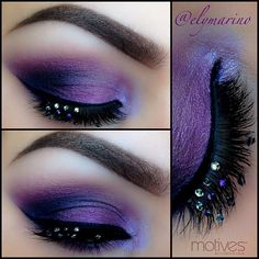 Purple Smokey eyes!! #elymarino