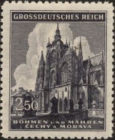 1944 St.-Veits-Cathedral, Prague