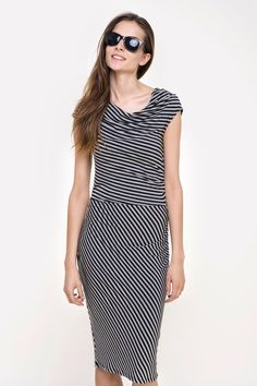sukienka damska dz.  #tatuum #stripes #dress