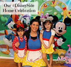 How to throw a Disney Side Mickey Mouse Clubhouse Party for Kids and friends!