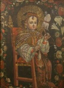Pintura Colonial, Colonial Art, School Painting, Christian Art, 15th Century, Oil On Canvas, Auction, Catholic Art
