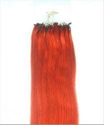 500 Strands 20 Remy Micro Loop 100% Human Hair Extensions 250 Grams Red by MyLuxury1st ONLY. $450.00. Ships USPS PRIORITY, safe and secure.  Any questions please contact MyLuxury1st, your reliable hair extensions supplier.  We are always happy to serve our customers.