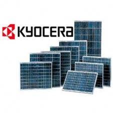 Moduli fotovoltaici Kyocera. www.tredienergia.it