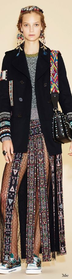 Resort 2016 Valentino ===================== Exclusive Handmade Ibiza & Boho Style Bags and much more.......by www.fabstyle.nl