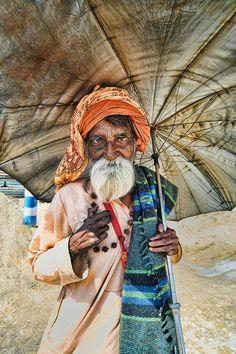 Umbrella Swami----  HDR photography
