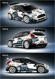 Design and wrap of several racing and service cars for Slovak L Racing Team