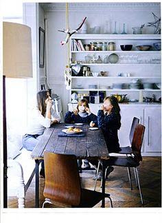 parisian chic interiors | interior divine: Un style typique Parisien: Mariu de Andreis from Elle ...