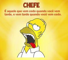 Imagem e Frases Facebook: As mais Engraçadas Aqui.: CHEFE TODO ERRADO