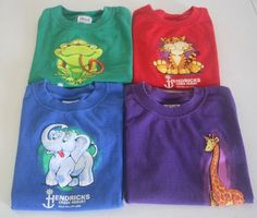 Lot of 4 Boys T-Shirts Short Sleeve 100% Cotton Size Youth XS Dale Hollow Lake #Anvil #Everyday