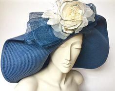 Kentucky Derby cappello pois cappello estivo di paglia