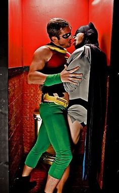 """southerncrotch: """"Quickly, Robin! The the Bat-Room!"""""""