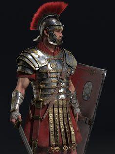 Armadura Medieval, Ancient Armor, Medieval Armor, Sca Armor, Roman Armor, Roman Centurion, Roman Warriors, Roman Legion, Armor Clothing