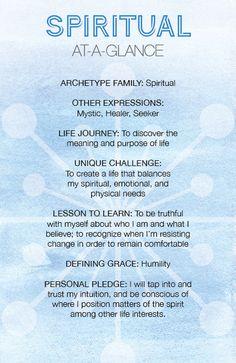 The Spiritual Archetype at a Glance - Archetypes Spiritual Life, Spiritual Growth, Spiritual Awakening, Spiritual Manifestation, Jungian Archetypes, Brand Archetypes, Writing Help, Writing Tips, Writing Resources