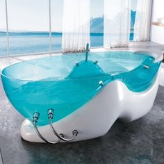 Massage Bathtub by Korra.  I need to get into this right now.