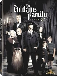 The Addams Family - Package Art Revealed For The 3rd and Final Volume
