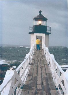 Marshall Point Light, Port Clyde, Maine. I'd love to be in this exact moment.