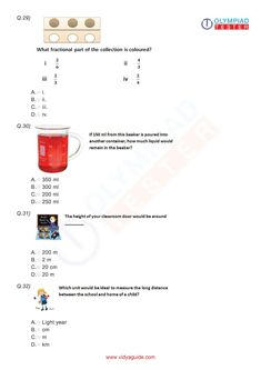 Download free Grade 3 Maths printable worksheets or take the tests online at Vidyaguide.