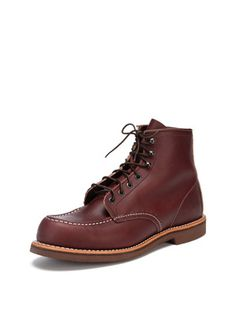Classics: Red Wing Leather Lace-Up Boot