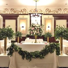 Eucalyptus bar with complimenting blooms