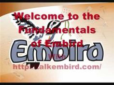 Embird fundamentals by expert Jacqui Viljoen - YouTube