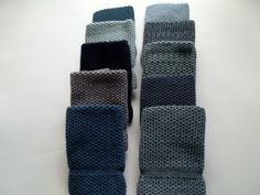 Dishcloths Knit in Cotton Blue Bundle by TheNeedleHouse on Etsy, $37.99