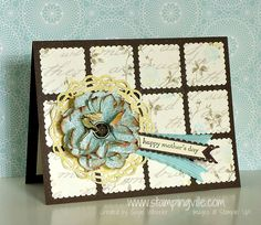 Mother's Day Blossom Party Card