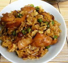 teriyaki chicken and rice