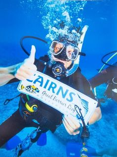 Go diving on the Great Barrier Reef in Cairns - check out this 3 week itinerary for Australia!