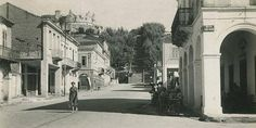 21 φωτογραφίες από την παλιά Πάτρα Old Greek, Crete, 1930, Street View, History, Patras, Travel, Tech, Memories