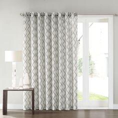 SONOMA Goods For Life™ Dallon Patio Door Curtain   100u0027u0027 ...