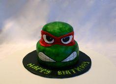 Ninja Turtle Cake #cakesbymeg