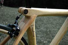 Ben Holvoet - wooden bicycles