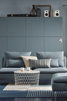 grey sectional grey and ikea sofa on pinterest. Black Bedroom Furniture Sets. Home Design Ideas