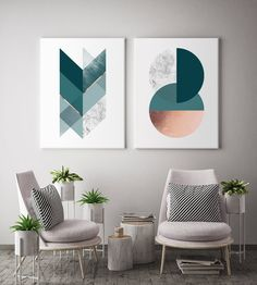 Geometric Harmony Canvas set of 2 canvas prints will create a beautiful gallery wall decor in any home. It features geometric elements in different colour options like charcoal navy, blush, marble and copper like texture (NOT a foil print), blush and grey, grey, black & silver, teal green. Beautiful diptych for modern walls of any space like office, bedroom, living room, nursery etc. inspired by minimal Scandinavian design. Chic and modern housewarming gift. Elevate your space by creating a… Scandinavian Design, Design, Abstract Pictures, Canvas Frame, Canvas, Diptych, Canvas Set, Geometric, Traditional Picture Frames
