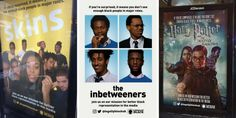 Guerrilla activists reimagine movie posters with black leads to underline diversity woes | The Drum