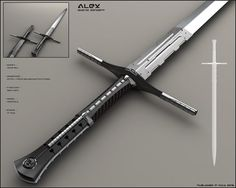 Qiuckjob from today. Idea has been to create sci fi cyborg sword for fictional scenario with non-standart profile. Blade is detachable. Work I did in 3ds max + vray and completed in photoshop...