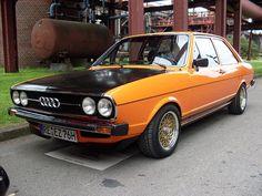 Audi auto - Audi 80 GTE 1976