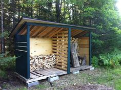 hay storage shed? Made from pallets