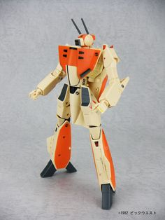 Yamato Macross Series The Super Dimension Fortress Macross 1/60 Kanzen Henkei VF-1D