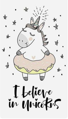 believe in unicorn typography and unicorn illustration vector. royalty-free stock vector art typography believe in unicorn typography and unicorn illustration vector. Unicorn Drawing, Unicorn Art, Cute Unicorn, Rainbow Unicorn, Wallpaper Fofos, Unicorn Quotes, Unicorn Illustration, Unicorn Pictures, Unicorns And Mermaids