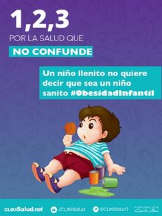 Campaña contra la obesidad infantil | Salud | Fundación Carlos Slim