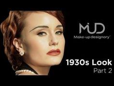 Vintage Makeup Tutorial - Classic 1930's Look - Part2