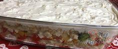 Recept Vrstvený těstovinový salát se zakysanou smetanou Grains, Rice, Food, Essen, Meals, Seeds, Yemek, Laughter, Jim Rice
