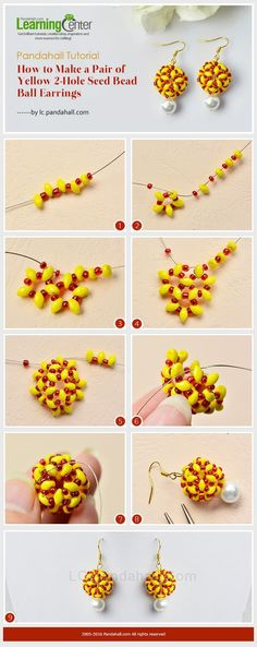 2-tone beaded bead picture tute #Seed #Bead #Tutorials. Check out that cool T-Shirt here: https://www.sunfrog.com/together-forever-Black-Guys.html?53507