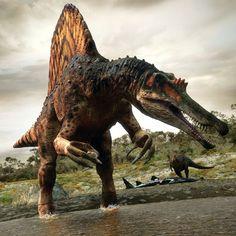 Planet Dinosaur - Spinosaurus by ~mx