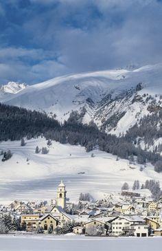 Switzerland, Club Med Saint-Moritz Roi Soleil