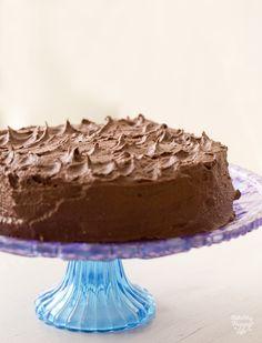Vegan Chocolate Layer Cake.