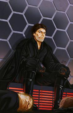 Poe Dameron of the Dark Side 3.0 led by NichaSheng